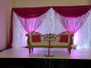 Stage Décor Pink LED Curtain