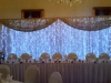 LED Head Table Backdrop & Birdcage Centerpieces
