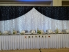 LED Navy Backdrop for Head Table