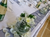 Navy Blue Head Table
