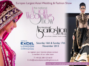 Largest Asian Wedding show in the UK